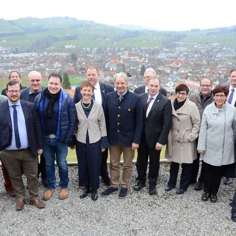 Besuch des Walliser Grossrats in Appenzell