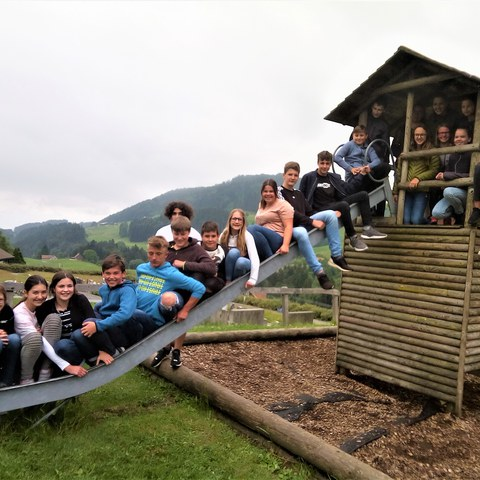 Bild 3   1. Sekundarklasse von Michael Haas, Integrierte Sekundarschule. Vergrösserte Ansicht