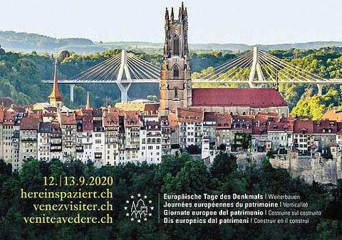 Kampagnenbild Europäische Tage des Denkmals 2020