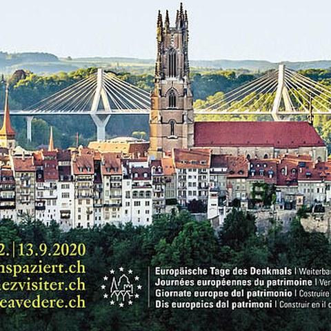 Kampagnenbild Europäische Tage des Denkmals 2020. Vergrösserte Ansicht