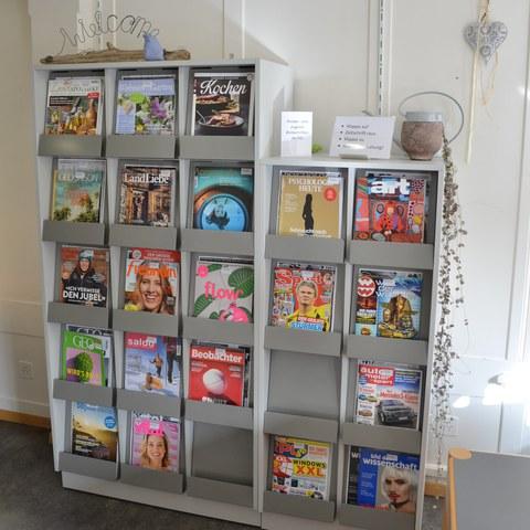 Zeitschriften. Vergrösserte Ansicht