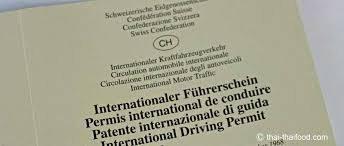 internationaler Führerausweis