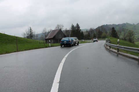 Appenzell Enggenhütten / Verkehrsunfall