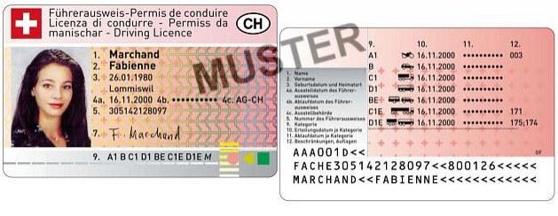 Führerausweis und Fahrzeugausweis FAK