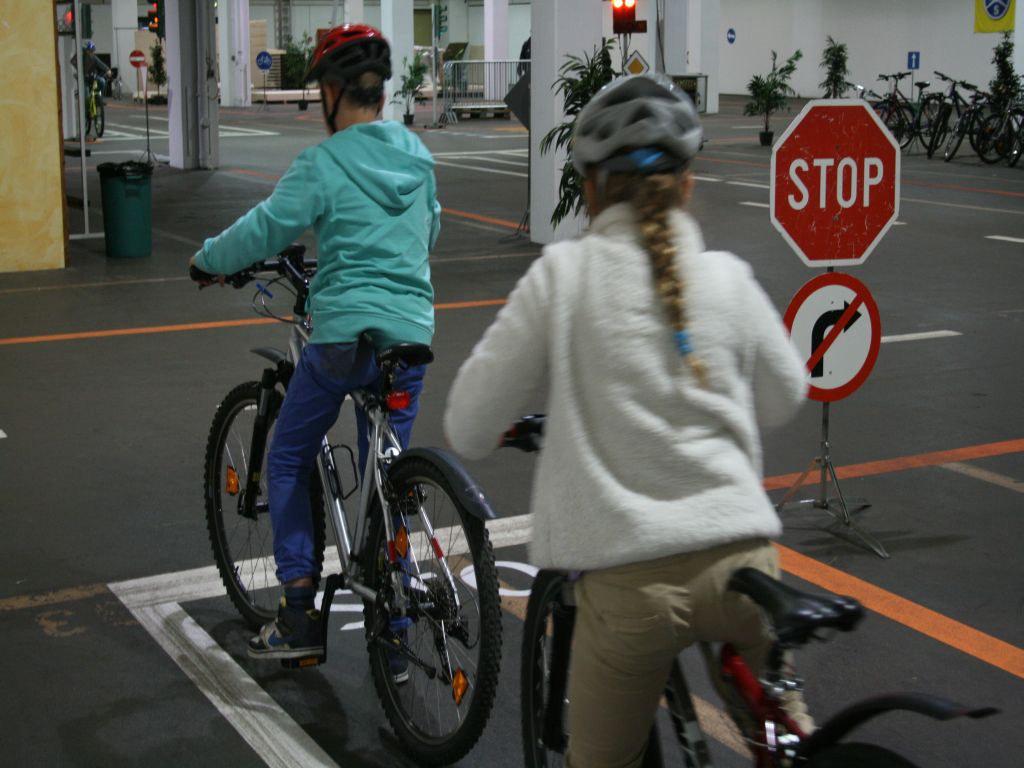 Praktisches Fahrradfahren im Schonraum (VSA)